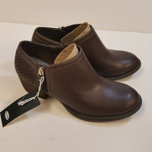 Dr. Scholl's brown bootie shoe size 7